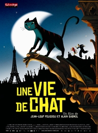 TUESDAY, FEBRUARY 26 at 11AM - A Cat in Paris